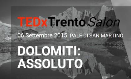 DOLOMITI ASSOLUTO TEDx TRENTO